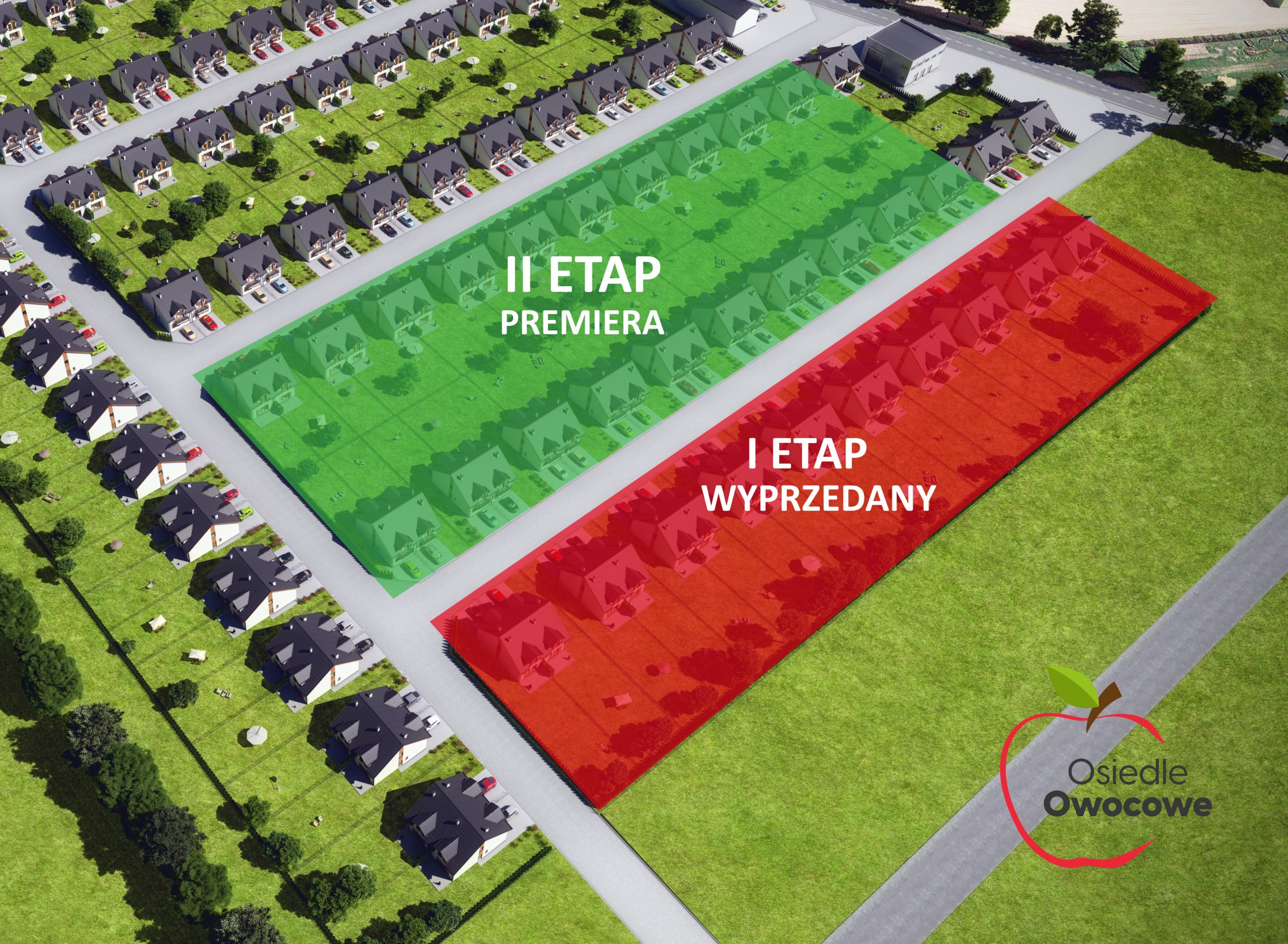 II Etap sprzedaży domów na Osiedlu Owocowym